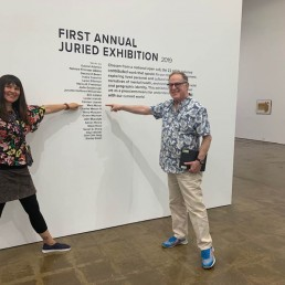 Mela M at First Annual Juried Exhibition 2019